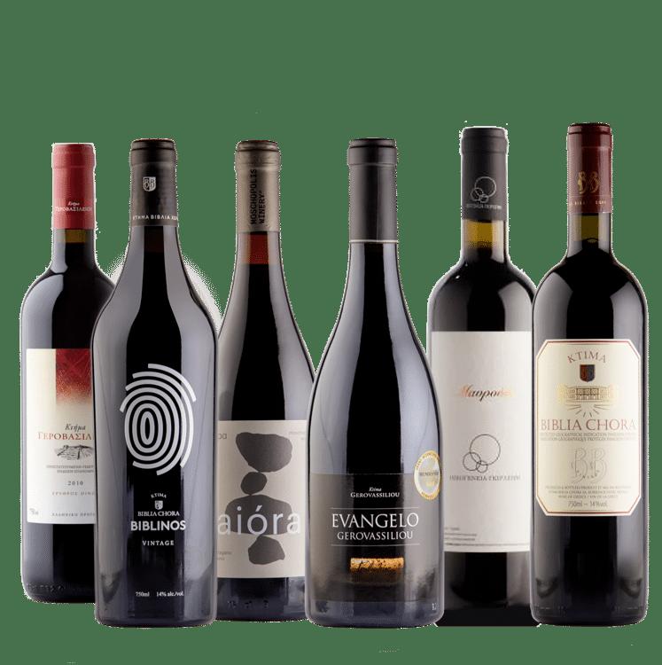 Beste Griekse rode wijnen