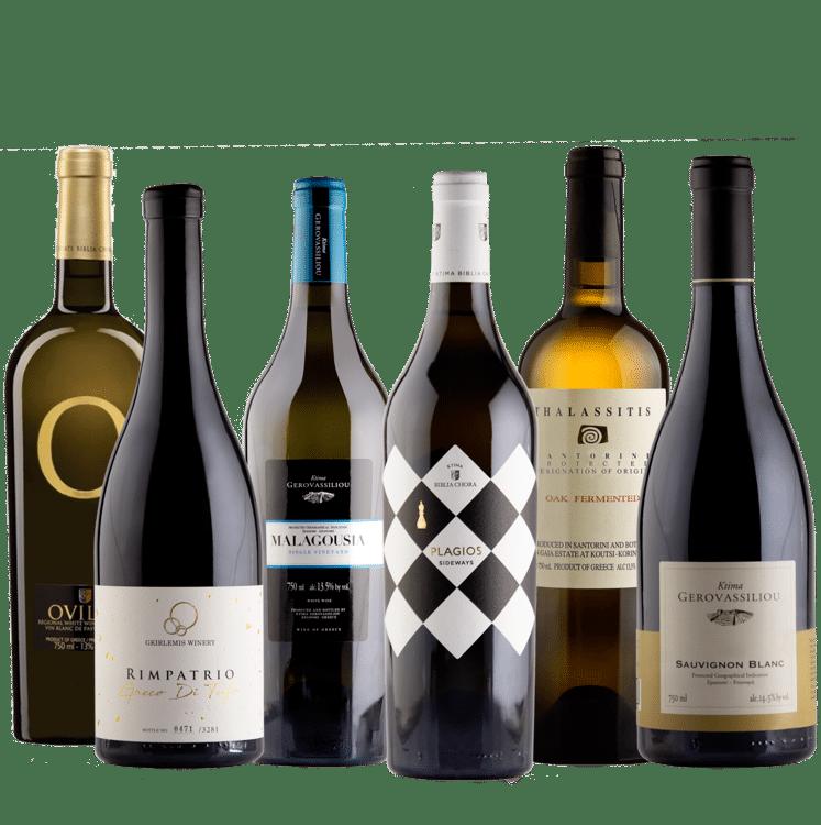 Beste Griekse witte wijnen
